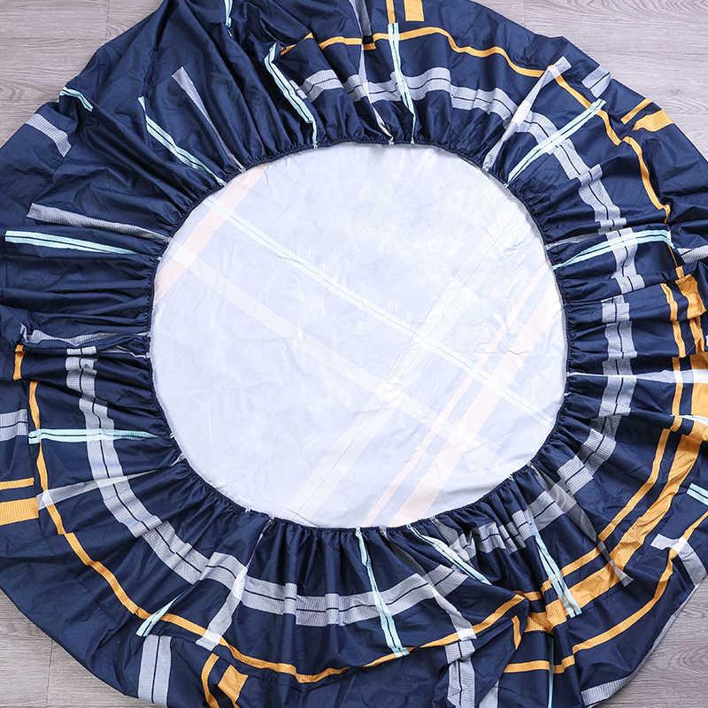 MECEROCK Nova Impressão Folha de Cama Capa de Colchão Impermeável Protetor de Colchão Equipada Pad Cama de Água Separadas Lençóis com Elástico