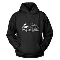 Ford Fiesta Kapuzenpullover T Shirt Novelty Cool Tops Men'S Short Sleeve T shirt