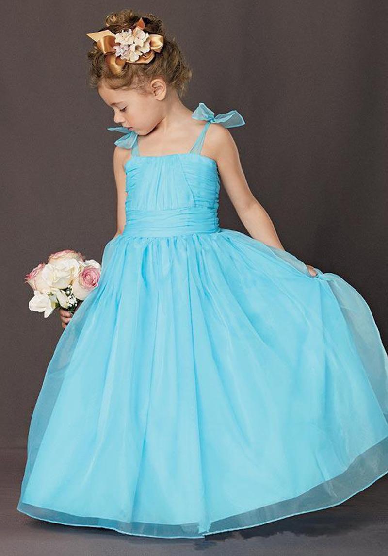 Popular Light Blue Flower Girl Dress-Buy Cheap Light Blue Flower ...