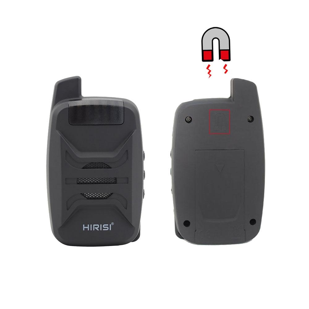 Alarme de morsure de pêche à la carpe étanche avec barre d'oreille sans fil alarme de pêche 1 + 4 avec LED sonore B1230 - 5