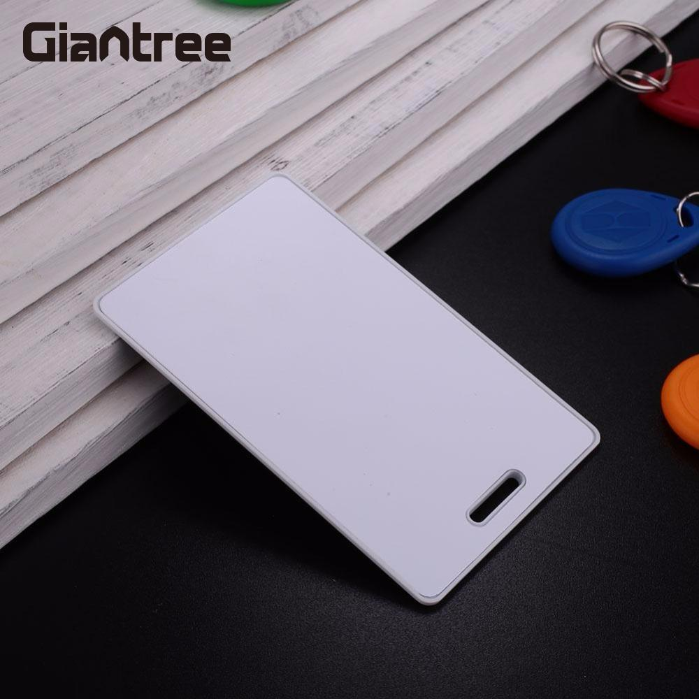 giantree New 20pcs Rewritable 125Khz RFID T5577 Thick Cards Proximity ID Card Blank Thin ID Card Rewrite Writable Access Control
