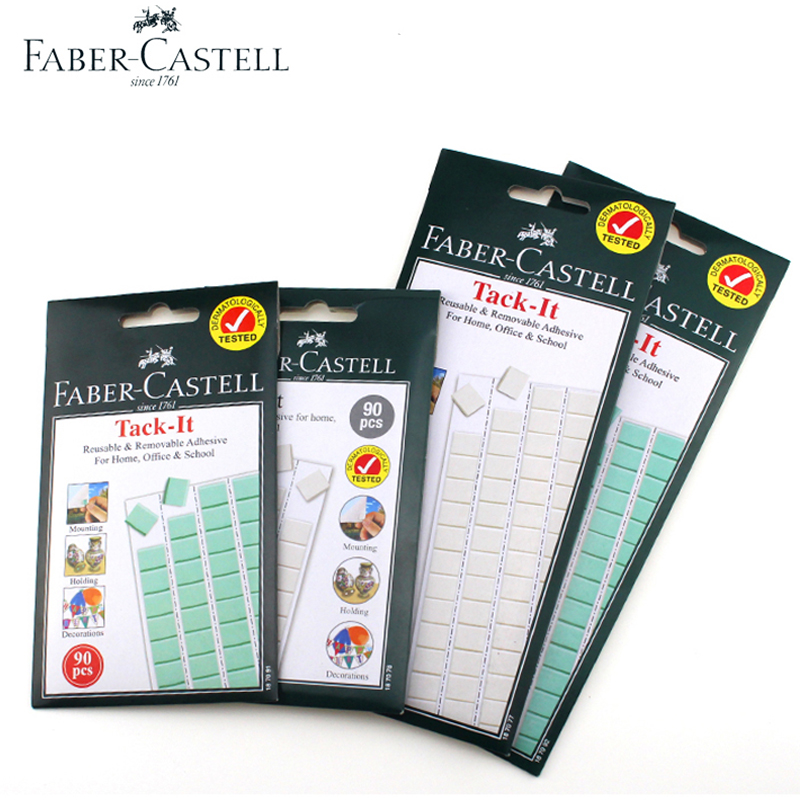 Faber Castell Adhesive Clay, Adhesive Wall Clay, Non-marking Poster Glue, Two Sides Sticking, Double-sided Adhesive.