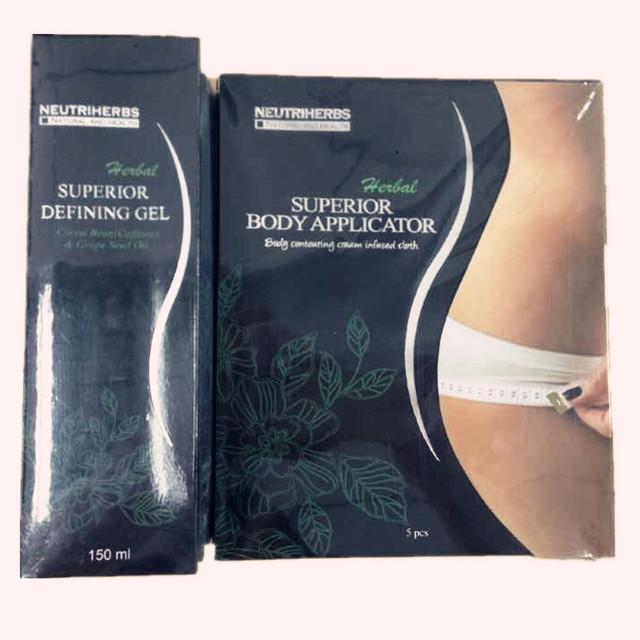 150 ml Mejor Opción Cosméticos A Base de Hierbas Gel de Cuerpo Que Define y 5 Cuerpo Wrap Delgado Suave Cuerpo Definir Gel funciona para Tono de Apriete firme