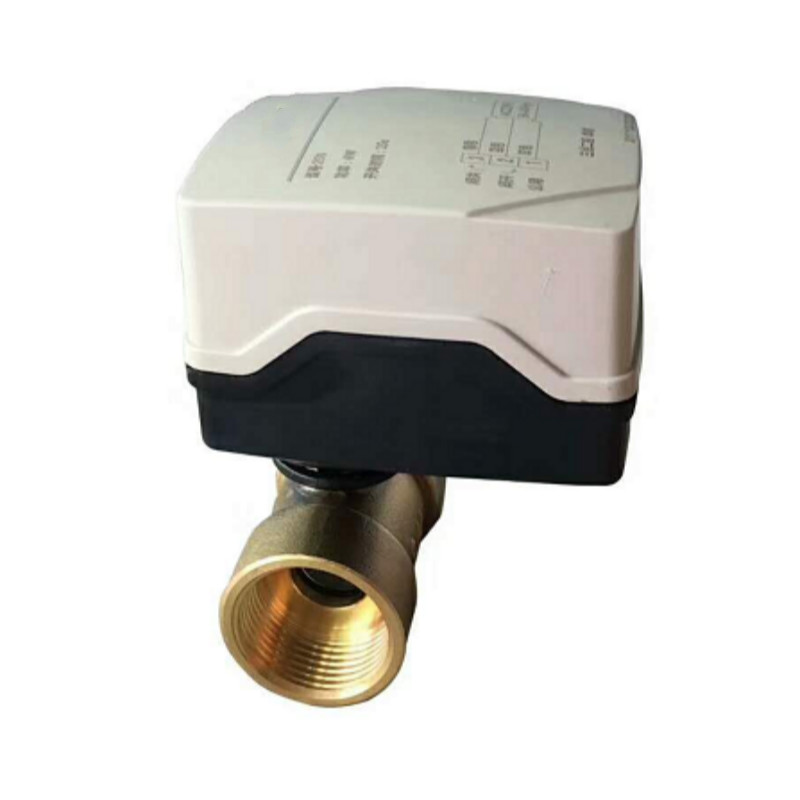 AC220V DN15 DN20 mini motorized ball valve Waterproof electric ball valve ball valve with electric actuator