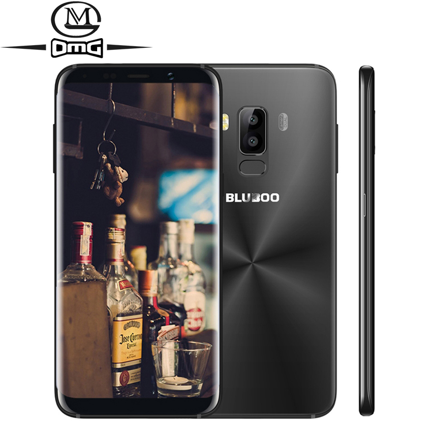 BLUBOO S8 HD 18 9 Aspect Ratio Mobile Phone 5 7 13MP Cameras MT6750T Octa Core