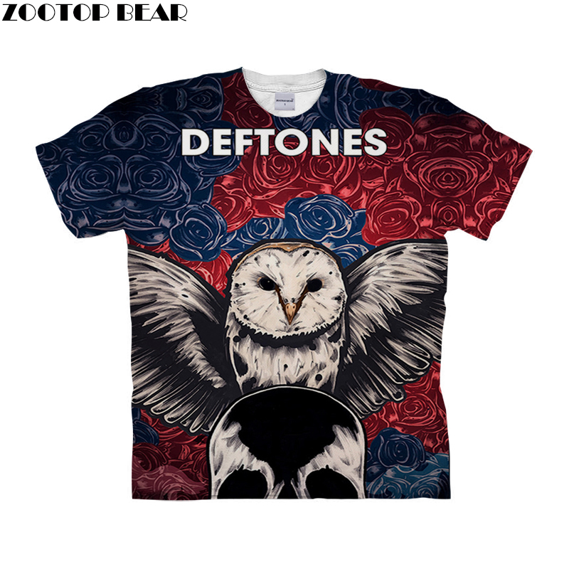 Funny Owl t shirt 3d t-shirt Men Women tshirt Summer Tee Printed Top Short Sleeve Camiseta Streetwear 6xl Drop Ship ZOOTOP BEAR