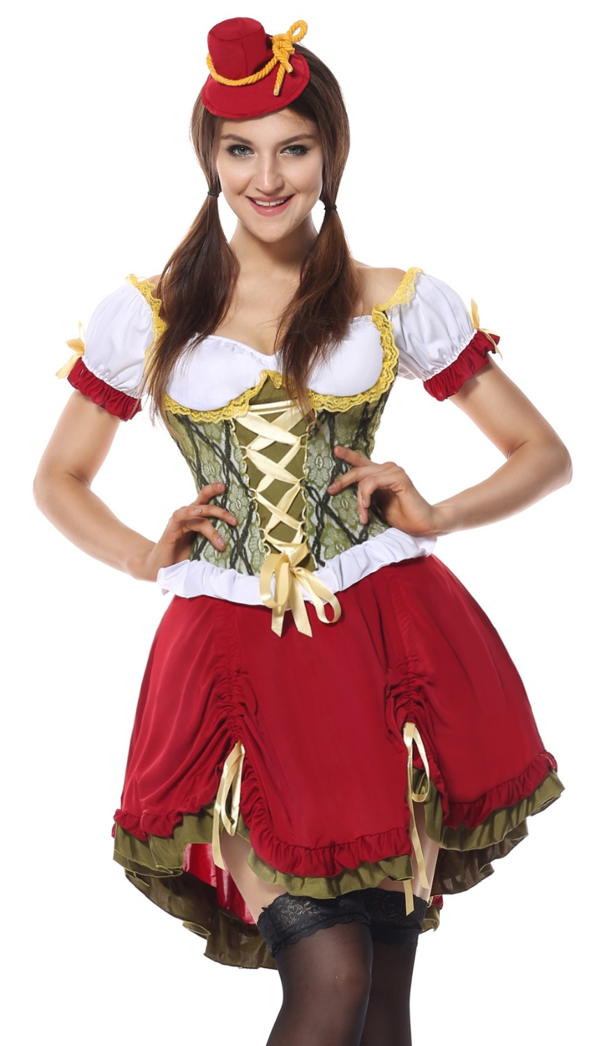 Hot Sexy Womens Traditional Beer Girl Costume Fancy dress Women French Maid Halloween Costumes oktoberfest Cosplay costume-in Sexy Costumes from Novelty ...  sc 1 st  AliExpress.com & Hot Sexy Womens Traditional Beer Girl Costume Fancy dress Women ...