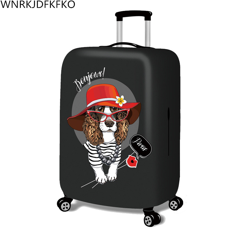 Hot Fashion Traveling On The Road Suitcase Case Protective Case Cover Trolley Bus Case Trip Suitcase Dust Cover For 18 To 32 Inc road trip usa eighth edition cross country adventures on america s two lane highways