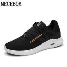 Hot sale men's casual shoes mesh breathable lace-up shoes outdoor jogging Zapatos Hombre sapato masculino plus sie 36-44 LA161M