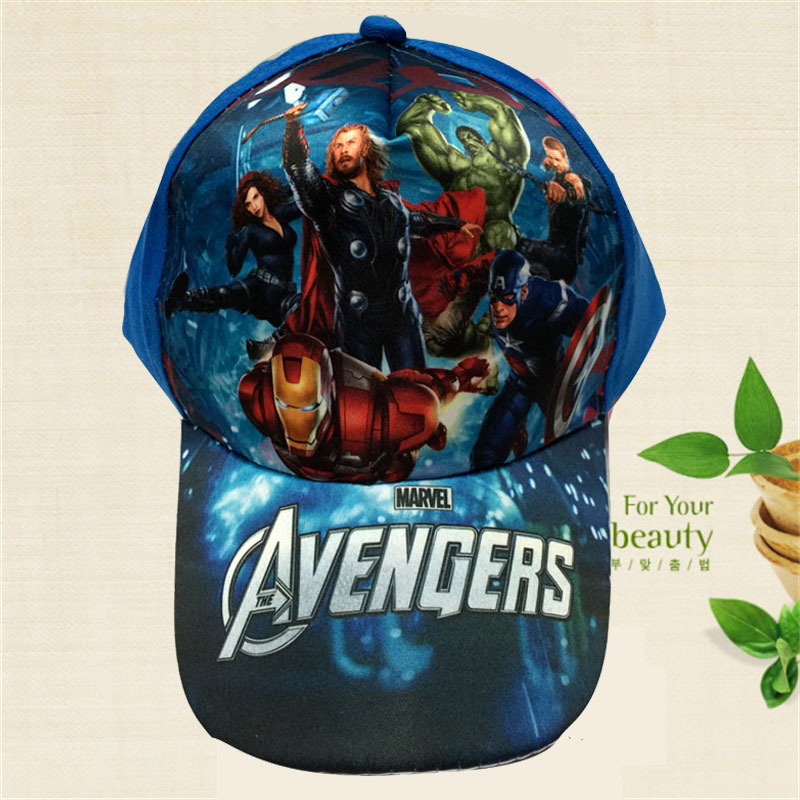 The Avengers Captain America Cosplay Cap Novelty Marvel Comics Hero Iron Man The Hulk Hats kid Children Hat charms Costume Props batman logo cosplay cap black yellow novelty super hero hats cartoon ladies dress mans hat charms costume props baseball cap