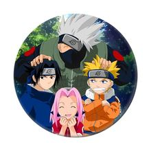 Nuovo Costume cosplay badge Anime Gaara Uchiha Sasuke Uzumaki Nuovo costume spilla In Plastica prop(China)
