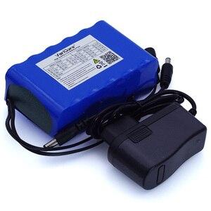 Image 5 - VariCore 12 v 10Ah 18650 li lon battery pack 10000 mah con BMS Bordo di Protezione del Circuito DC 5.5 * 2.1mm + 12.6 v 1A Caricatore