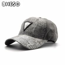 8083b3db0dc BHESD 2017 New Grey Dad Hat Men Women Cute Cotton Baseball Caps Male  Snapback Hat Winter Autumn Headwear Bones Gorras JY-55