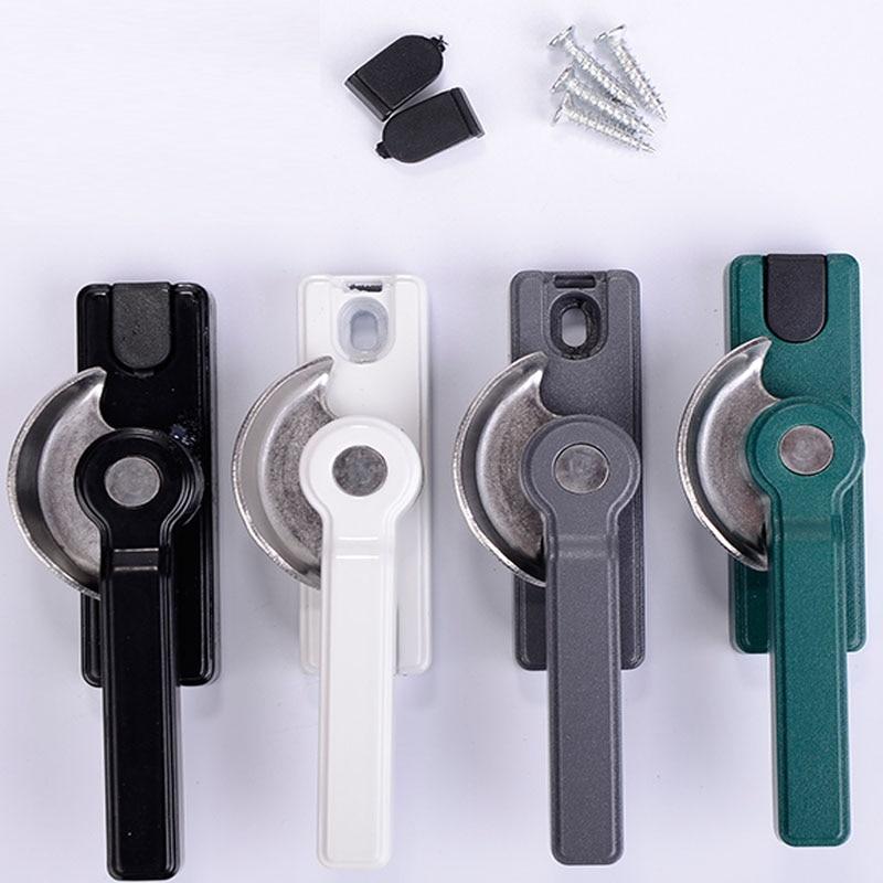 Thick type, adjustable crescent lock push and pull lock aluminum window and door locks window fittings aluminum window locks
