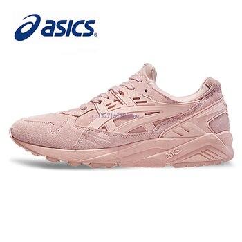 b02d0884 Оригинальные ASICS мужские туфли легкие мягкие беговые кроссовки низкие  спортивные туфли кроссовки для прогулок дышащие Горячие