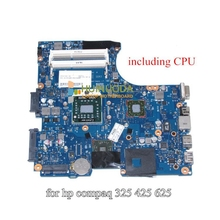 NOKOTION 611803-001 Motherboard For Hp Compaq 625 325 CQ325 425Laptop Main board RS880M DDR3 with Free CPU