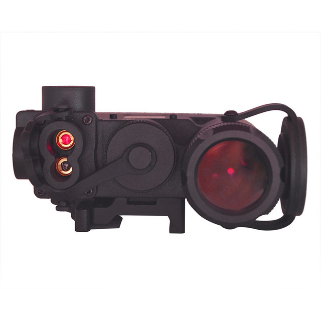 Element DBAL-D2 Battery Case Red Dot Laser Pointer LED Flashlight IR illuminayor Remote Control Tactical Military Weapon Lights
