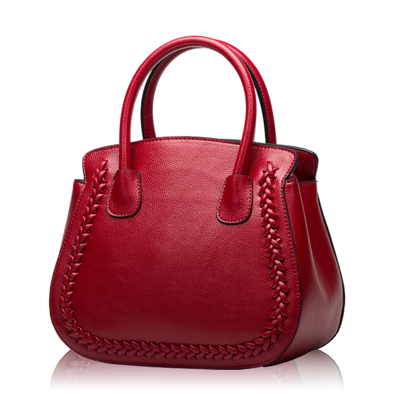 2017 luxury Saddle Handbags Women's Bags Designer Cattle Split Leather Wedding B