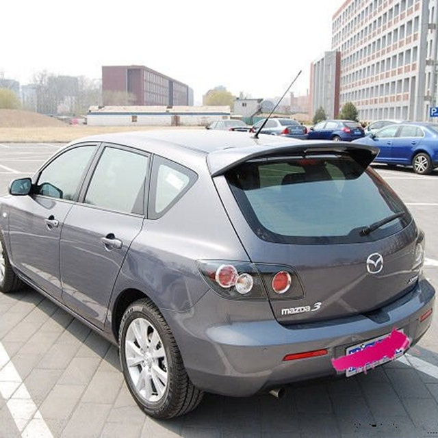 f r mazda 3 spoiler abs material auto heckfl gel primer. Black Bedroom Furniture Sets. Home Design Ideas
