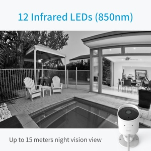 Image 3 - YI CCTV IP Camera Outdoor HD 1080P Waterproof Night Vision Wireless 2.4G Wifi Security Cam Surveillance System Global Cloud