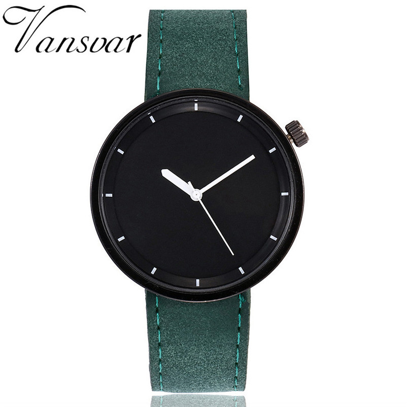 Vansvar Watch Women's Casual Quartz Leather Band New Strap Watch Analog Wrist Watch Luxury Business Clock Watch Relogio Feminino paidu fashion men wrist watch casual round dial analog quartz watch roman number faux leatherl band trendy business clock