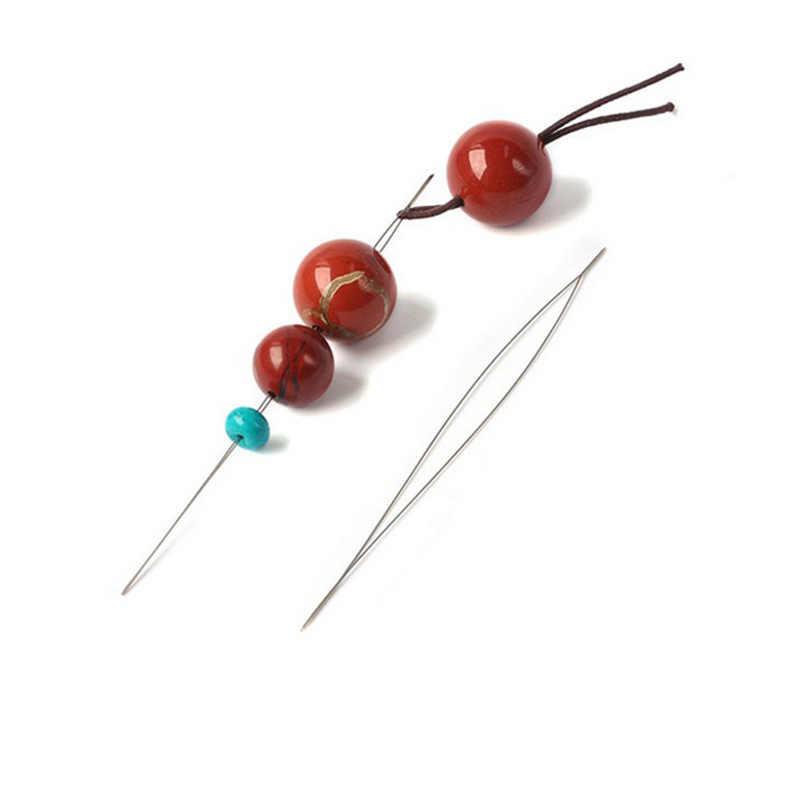 מכירה תכשיטי Threading מחט מרכזי פתיחת צמידי סיכות נשים אביזרי DIY ואגלי כלי בעבודת יד