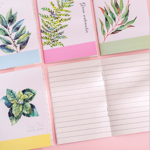 Image 3 - 40 paczek/partia Korea kreatywna mała świeża seria malarska notatnik przenośny przenośny notatnik sześć wyboru