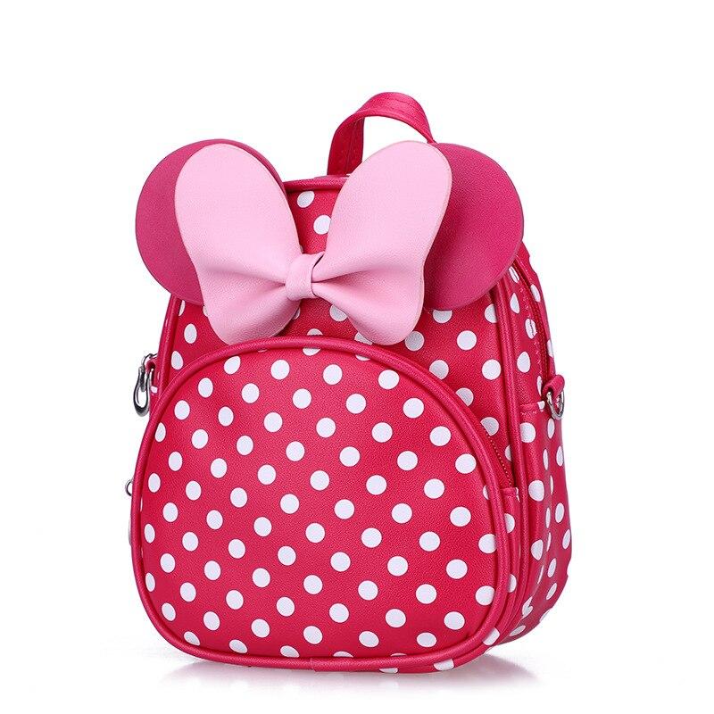 Cute Animal Cartoon Kids Backpack Minnie Mouse SchoolBag Backpacks Children School Bag For Girls Mochila Kindergarten Baby Gifts