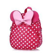Cute animal Cartoon kids backpack Minnie Mouse SchoolBag Backpacks Children School