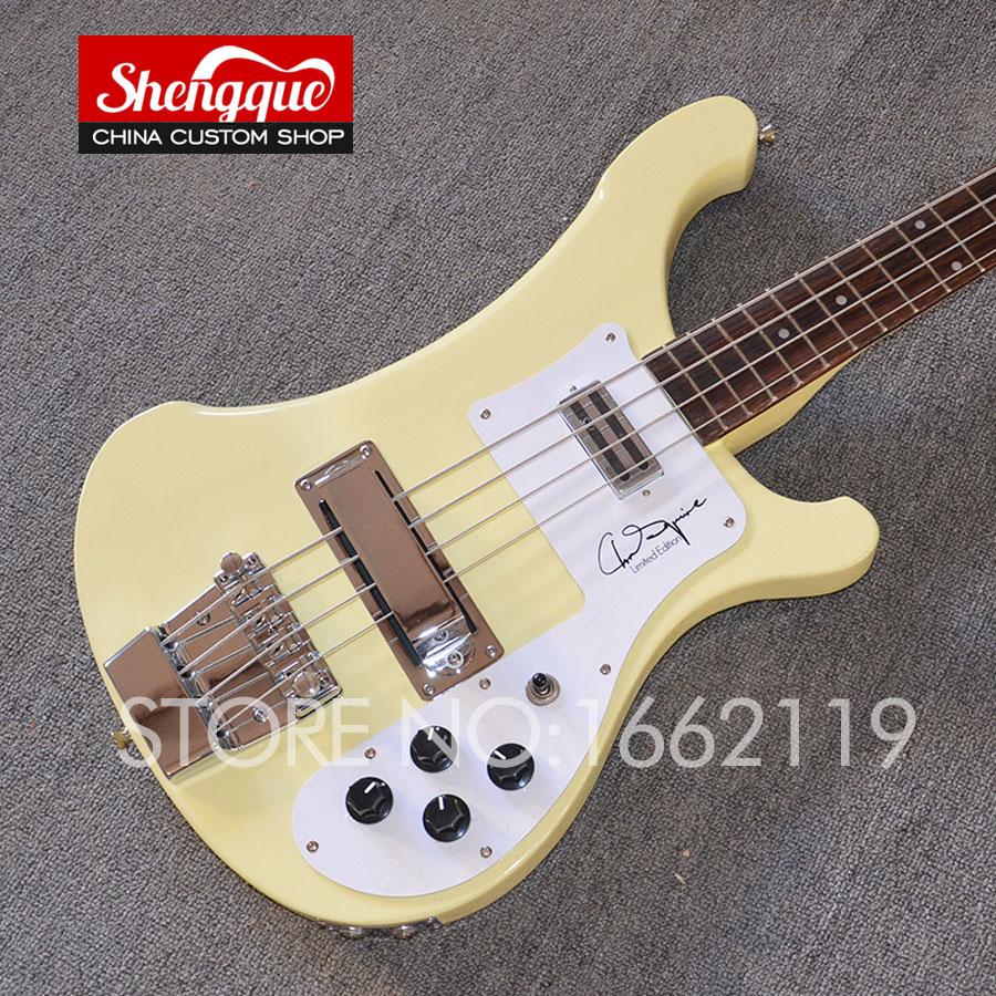 buy shengque rick bass 4 strings electric bass guitar rickenback neckt hrough. Black Bedroom Furniture Sets. Home Design Ideas