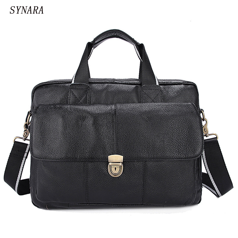 100% genuine leather men bag crazy horse leather men's handbags casual business shoulder bag briefcase messenger bag laptop цены