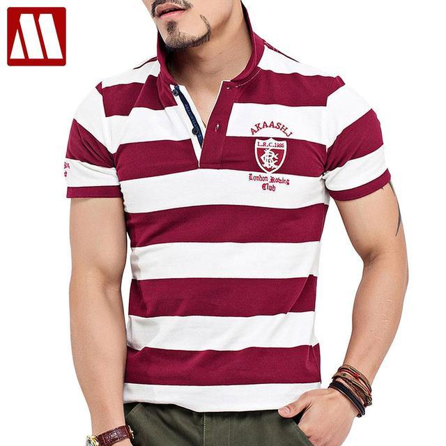 f7233641b 2019 Summer Mens Casual Polo Shirts Zebra stripe Cozy Luxury Brands Clothing  Short Sleeve Man's Slim