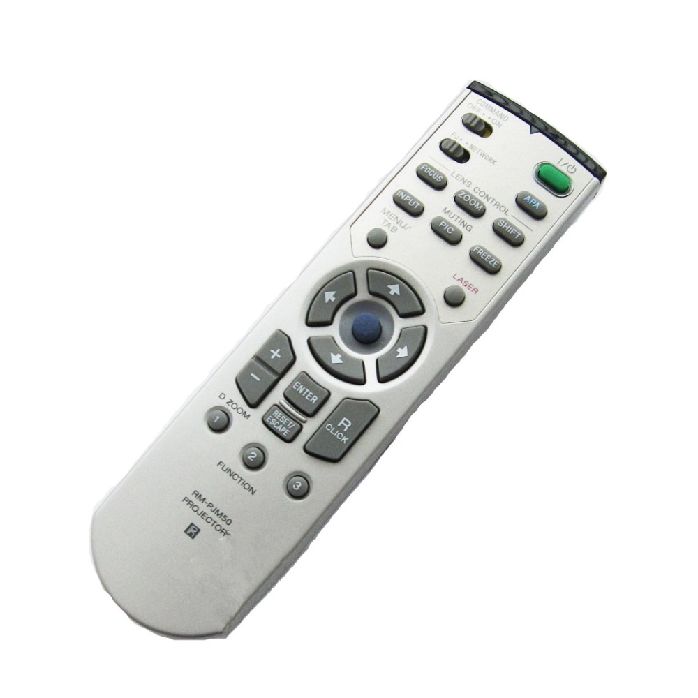New remote control for Sony projector remote controller RM-PJM50 VPL-FX50 chunghop rm l7 multifunctional learning remote control silver