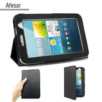 Pcs Lot Folio PU Leather Case Cover Stand For Samsung Galaxy Tab 2 7 0 Smart