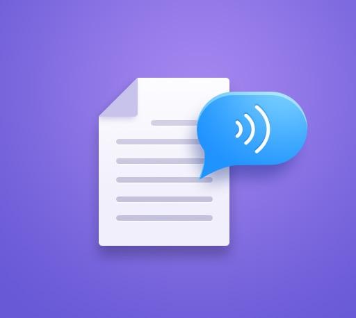 语音合成 · 让你的文章开口说话