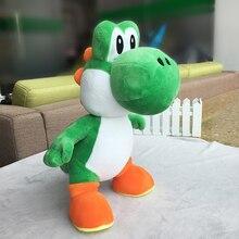13'' 34cm Super Mario Bros Standing Green Yoshi Dragon Plush Dolls Soft Yoshi Peluche Toys Kids Gifts Free Shipping цена 2017
