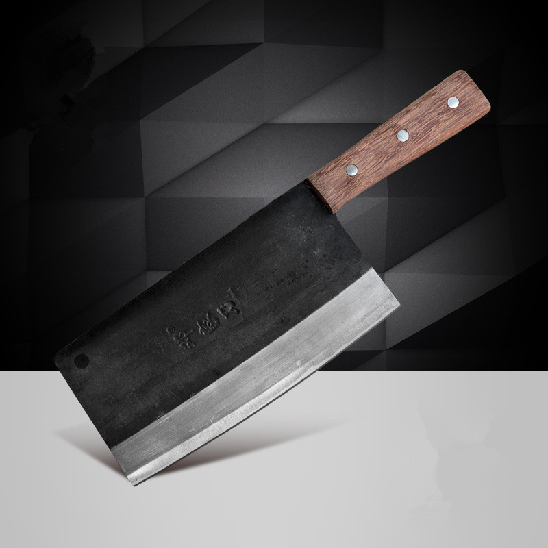 Free Shipping Deng Knives Handmade Professional Chef Knife Kitchen Slice Meat Vegetable Multifunctional Knives Forged Knives