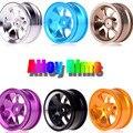 4 pcs 1:10 RC model On-Road car Aluminum wheel rims 7-spoke Alloy Rims for HPI REDCAT HIMOTO HSP Racin 107A