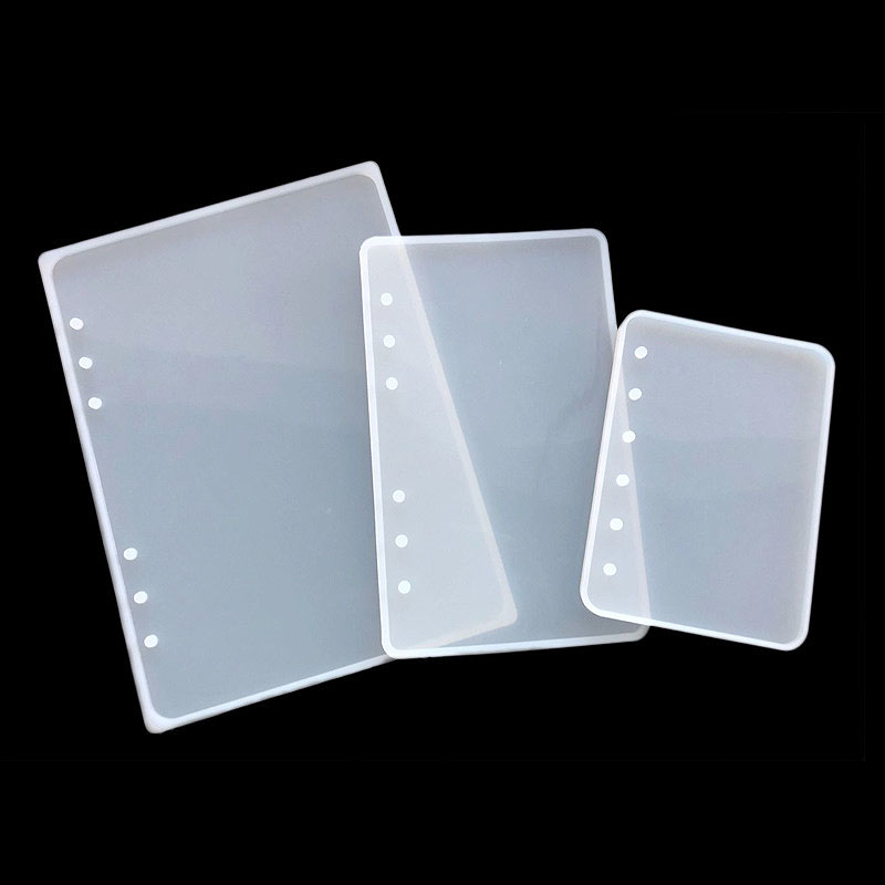 1 pc a5 a6 a7 notebook capa de silicone molde resina silicone molde artesanal diy jóias fazendo moldes de resina cola epoxy