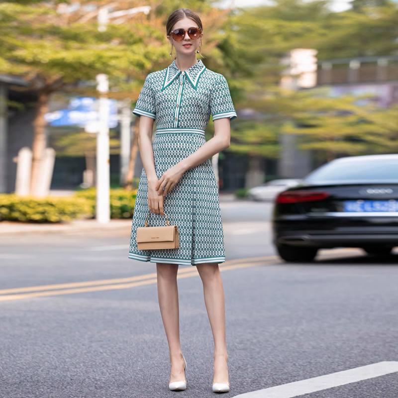 Milan Designer de piste de haute qualité été nouvelles femmes de mode fête bohème plage Sexy Vintage élégant Chic imprimé robe en mousseline de soie