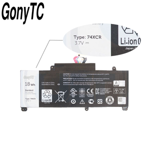 Image 3 - Gonytc 18Wh 3.7V 74XCR 074XCR Original Laptop Battery For Dell Venue 8 Pro 5830 T01D VXGP6 X1M2Y Tablet Series Genuine Battery