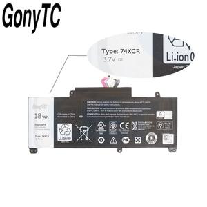Image 3 - Gonytc 18Wh 3.7V 74XCR 074XCR batterie dordinateur portable dorigine pour Dell Venue 8 Pro 5830 T01D VXGP6 X1M2Y tablette série batterie dorigine