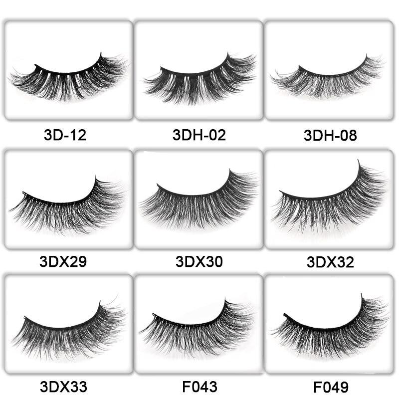 91fbd170321 50 Pairs mink eyelashes customize packing false lashes 3d mink lashes  private label eyelash extension makeup fake eyelashes -in False Eyelashes  from Beauty ...
