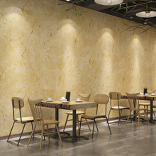 Vintage industrial style plain solid color wallpaper clothing store Internet cafe restaurant old cement gray crack PVC