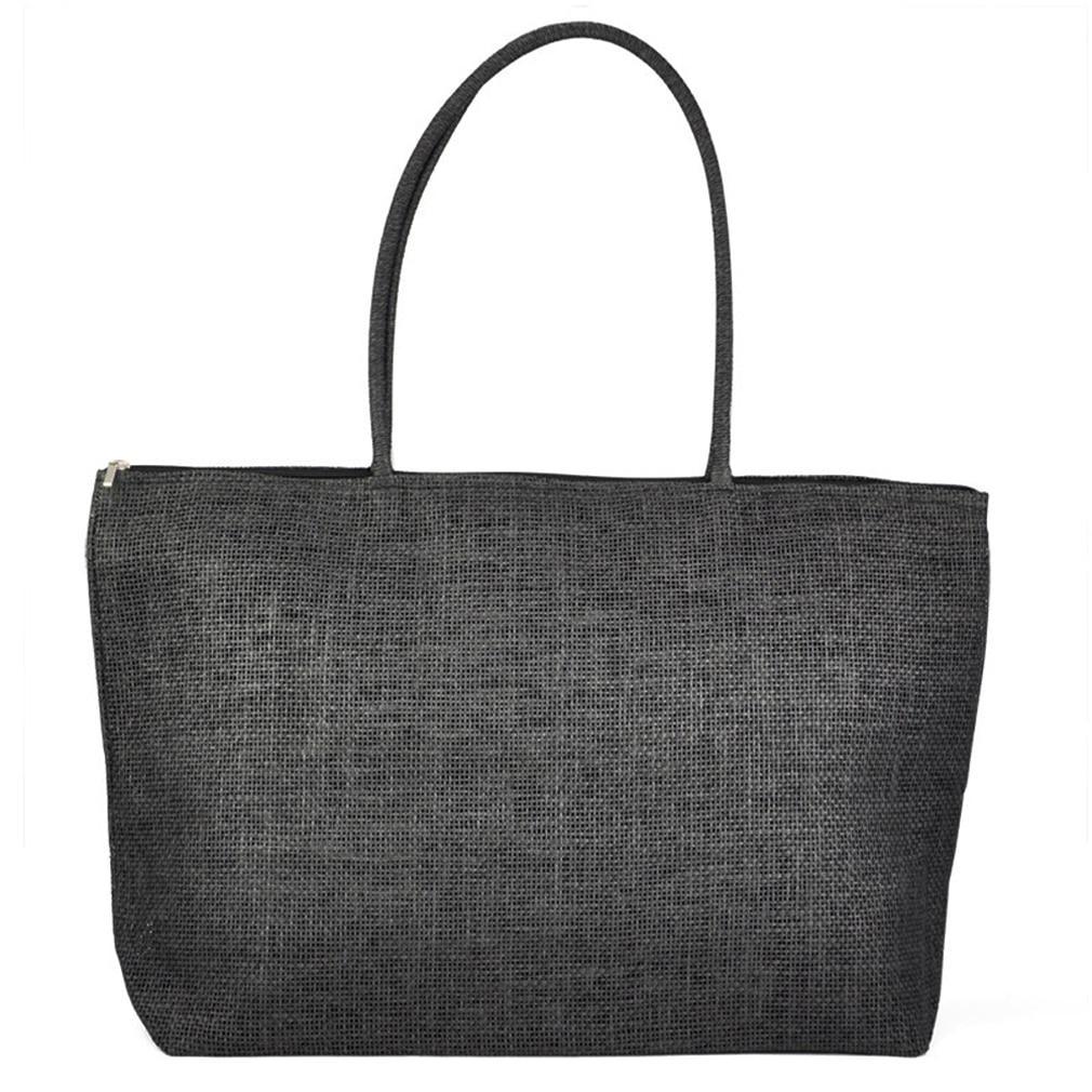 Black Straw Handbags Promotion-Shop for Promotional Black Straw ...