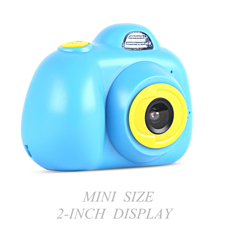 Mini Kids Camera Multi-language Fxed Lens Puzzle Game Life Record Electronic Camera Educational Toy Children's Birthday Gift