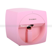 2019 Portable O2Nails Mini Printer Machine 3d Nail Printer Digital Cheap Nail Printer Device for Salon Use and Home Use