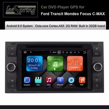 Android 6.0 Car DVD Player for FORD Mondeo S-MAX FOCUS 2 Radio GPS Navigation Bluetooth
