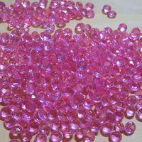 10000 pcs 4.5mm rosa Acrílico Diamante Wedding Party Confetti Decoração de Mesa Dispersadores 002045009