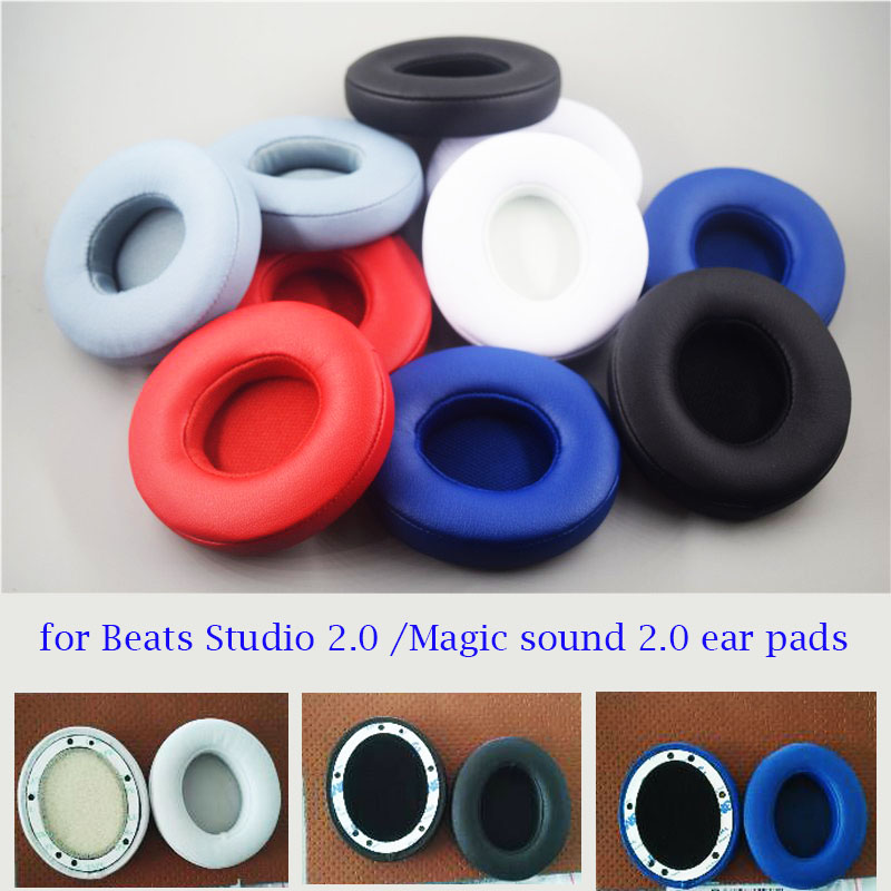 Coussins d'oreille Coussins Cover pour son Magic 2.0 / Beats Studio 2.0 Casques sans fil Studio Magic sound 2.0 coussinets d'oreille